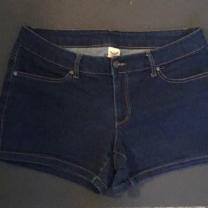 Women's faded glory jean shorts
