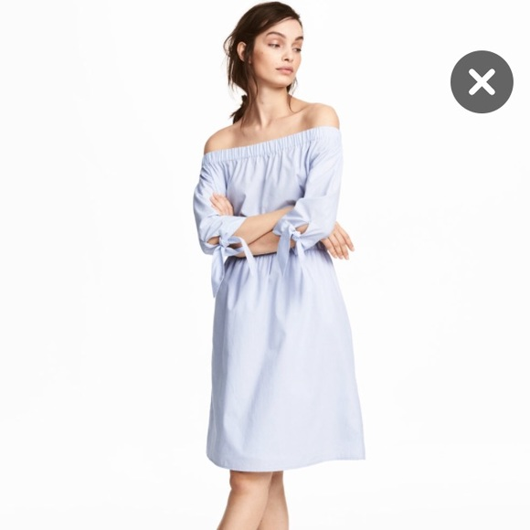 cd49d8e33236 H M Dresses   Skirts - H M Off The Shoulder Dress - Size 12 ...