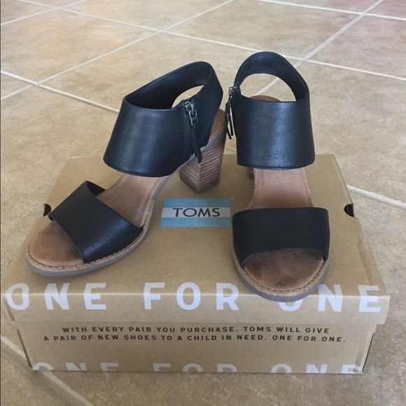 Toms Shoes | Toms Majorca Cutout Black