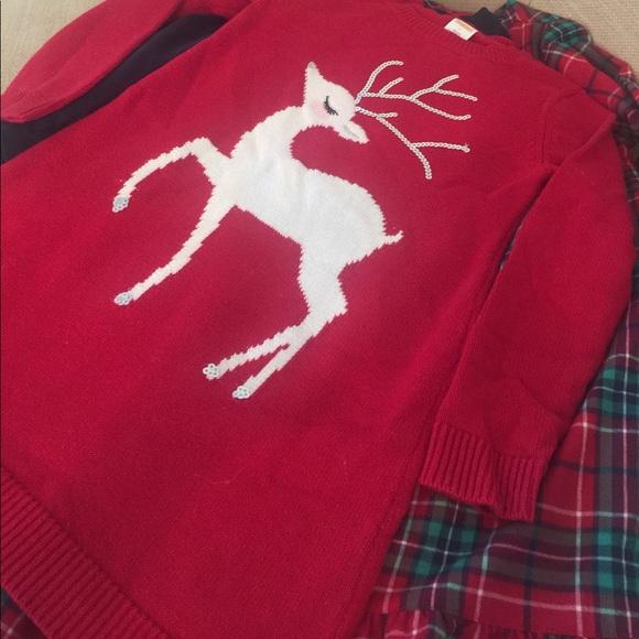 92ef1b795cd Gymboree Other - GYMBOREE holiday sweater dress Girls size 7