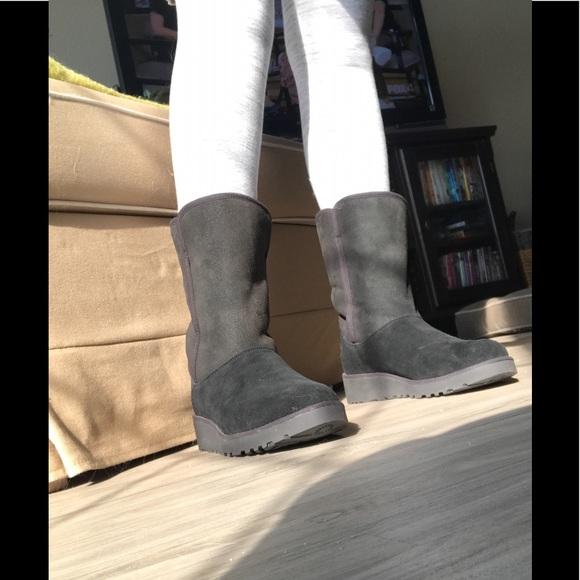 UGG Shoes   Ugg Amie Black Boot Size 75