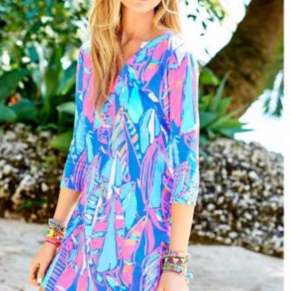 ec1c72e3462524 Lilly Pulitzer Dresses & Skirts - Lilly Pulitzer Ali dress Bay Blue Out To  Sea