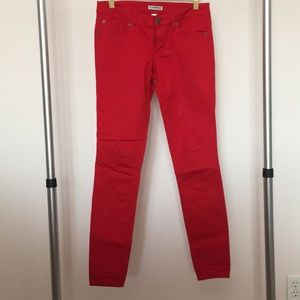 Red EXPRESS Straight Leg Jean Size 4