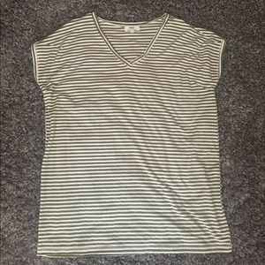 Short sleeve stripped PIKO top!!