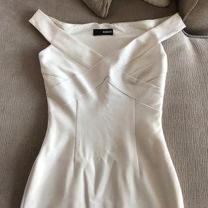White Nicholas dress