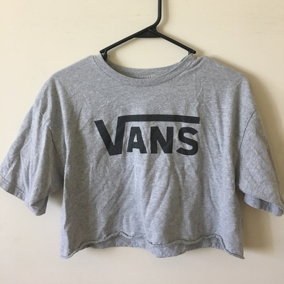 0d12be6fe80 VANS DIY Crop Top. M_59ad732b981829271201464e