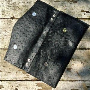 Handbags - Ostrich leather clutch