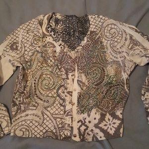 Sweaters - Multi color cardigan