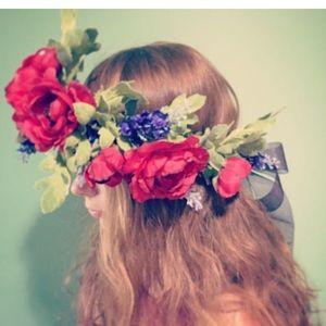 Accessories - Flower crown 'summer meadow'
