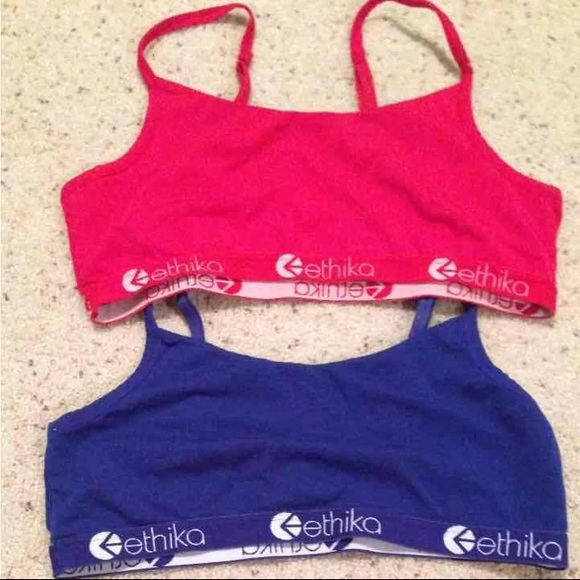 e4ebb47bc2 ethika Other - Ethika Pullover Sports Bra Bundle