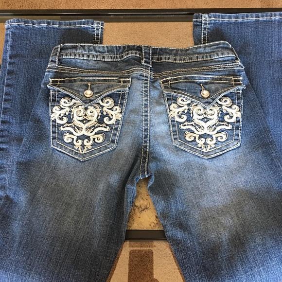 a.n.a Jeans - Embellished pocket jeans