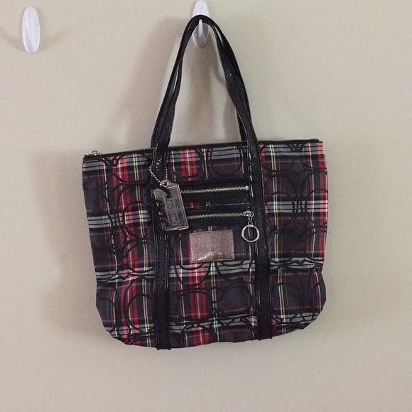 Coach Accessories - COACH POPPY Plaid Bag