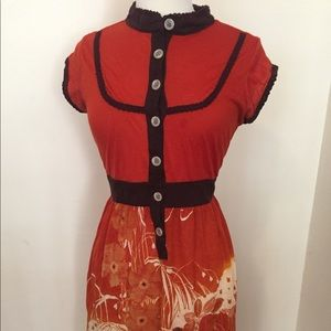 Nick & Mo Dresses - Wool blend anthropologie dress