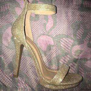 Light Gold 4 1/2 Inch Heels!