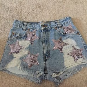 $76 ven♏️o only !!! LF star shorts