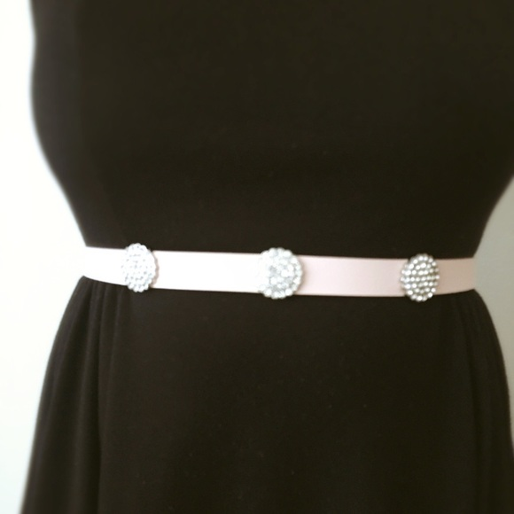 kate spade Accessories - Brand New Kate Spade Leather & Rhinestone Belt