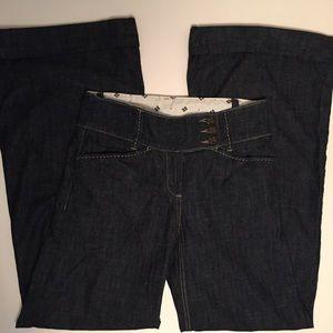 BCBG Women's Trouser Style Jeans