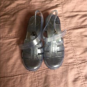 American apparel jelly shoes size 6