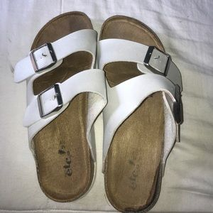 1533fb6bd23 Shoes - Fake birkenstocks white