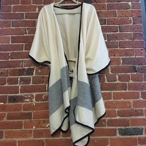 Ann Taylor Belted Cape | Perfect for Fall