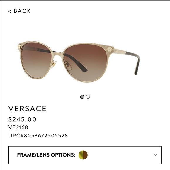 0ddb39c0e4c Versace Accessories - ⚡️SALE⚡️Versace Sunglasses VE2168 + Case