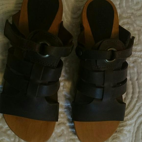 fb0c23c89b9 Sanita leather sandals