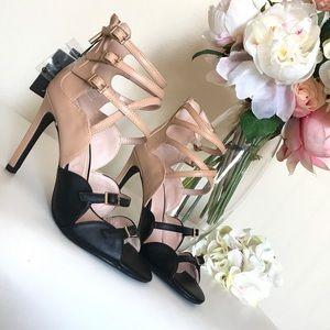 Zara Color- Block High Heel
