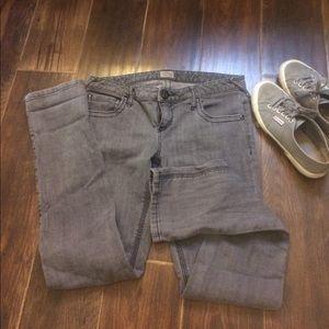 Free People grey jeans