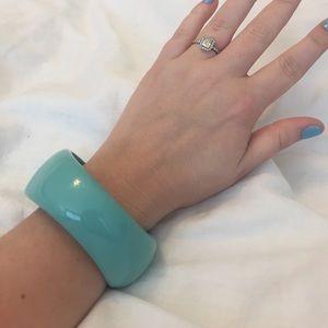 Kenneth Jay Lane Bracelet Bangle - Tiffany Blue
