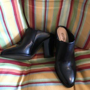 Michael Kors Leather Slip on Clogs
