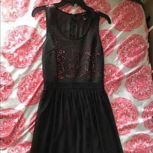 Black/Pink Formal Dress
