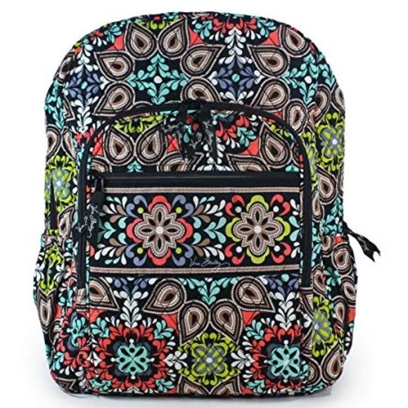 88969348b383 Sierra Print Vera Bradley Campus Backpack. M 59ada81cc6c7958400026ab6