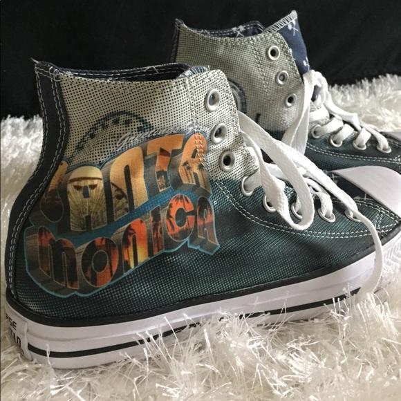 9a1fdccacf0447 Santa Monica high top Converse All Stars Chucks