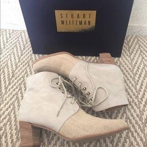 😍 incredible Stuart Weitzman lace up boots!!