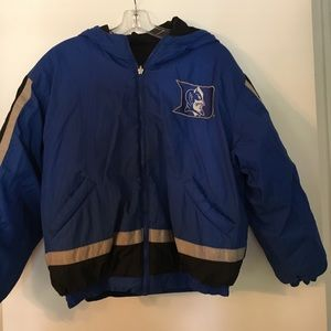 Boys Duke univ. reversible winter coat