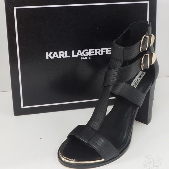 Karl Lagerfeld Paris Laveda Strap Heel