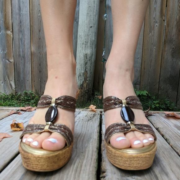Sandals Poshmark Damiani's ShoesItalian Wedge JFc3K1l5uT