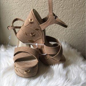 New MIA Platform Sandals