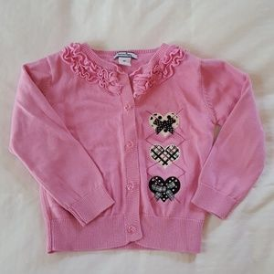 Pink Girls Size 3T Sweater