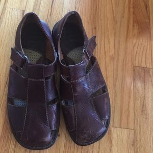 All leather men's Born shoes