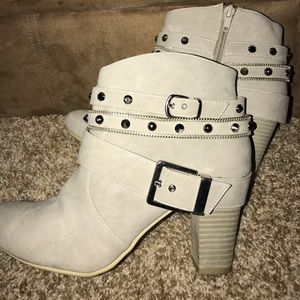 JLo studded ankle booties