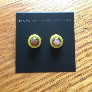 New Marc by Marc Jacobs Yellow Earrings