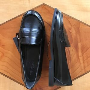 Zara Girls Patent Leather Loafers NWT