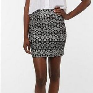 """Pleasure Doing Business"" Bandage Skirt"