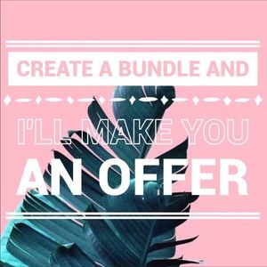 create a bundle of your favorite items!!!