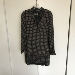 Long sleeve Vince tunic dress, size 2.