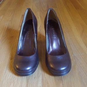 Rampage Brown High Heels
