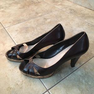 Chocolate Brown heels