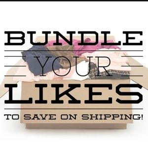 Bundle Two or More likes to recieve a discount