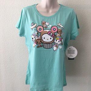 NWT Hello Donut Kitty X Tokidoki Graphic Tshirt L
